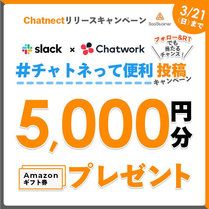 (終了しました)3/16~3/21『Chat.jp』→『Chatnect』(チャットネクト)リニューアルキャンペーン